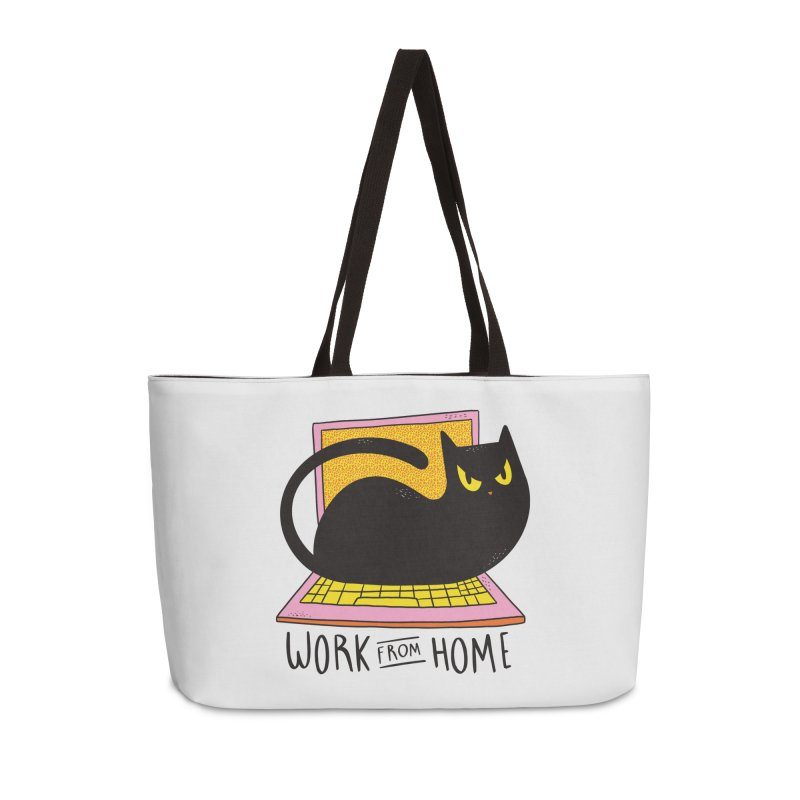 Work From Home Cat Accessories Bag by Purrform