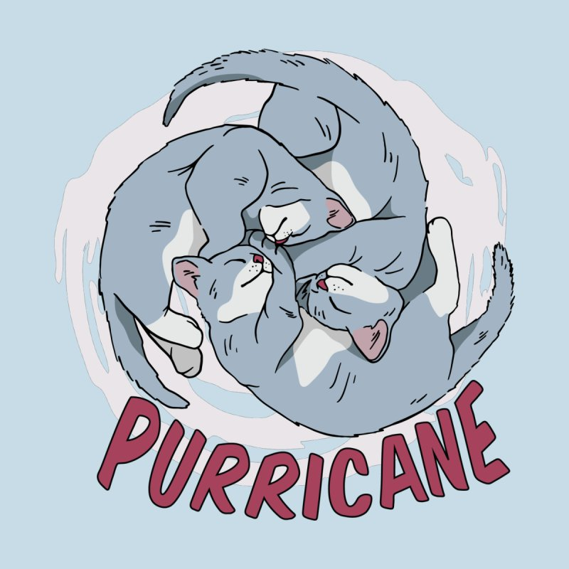 PURRicane Men's T-Shirt by Purrform