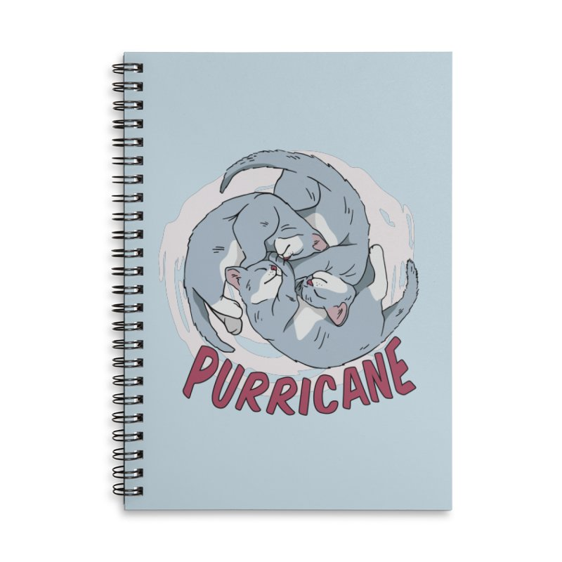 PURRicane Accessories Notebook by Purrform