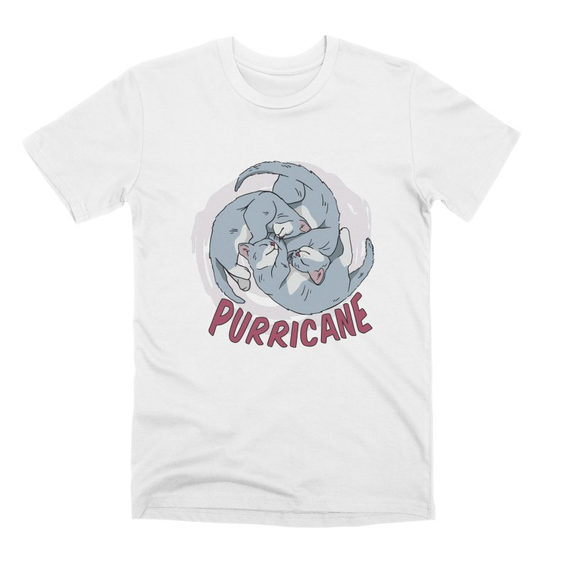 PURRicane Men's T-Shirt by Purrform