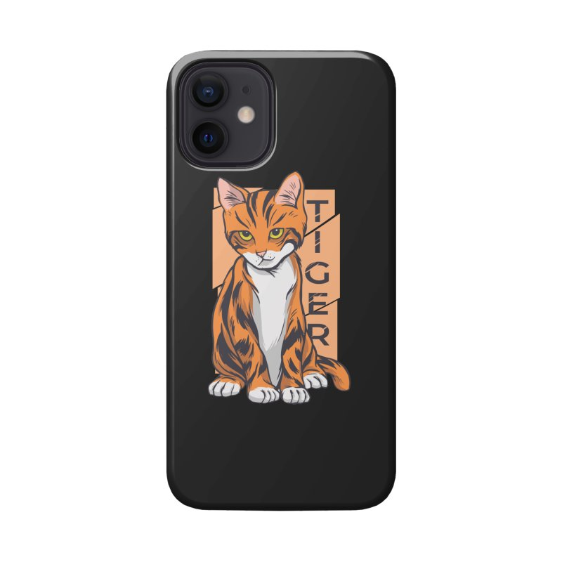 Tiger Cat Accessories Phone Case by Purrform