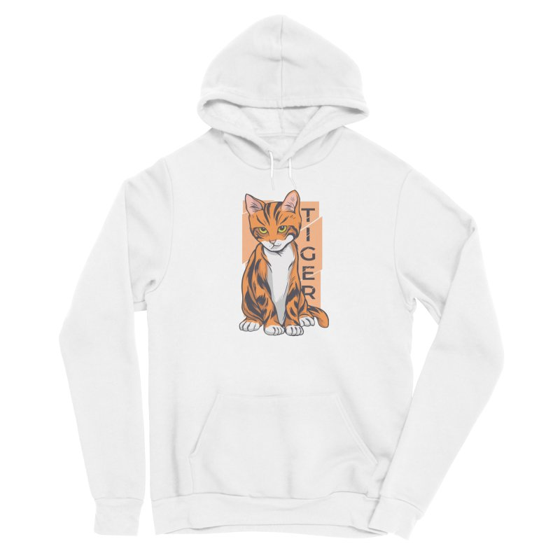 Tiger Cat Women's Pullover Hoody by Purrform
