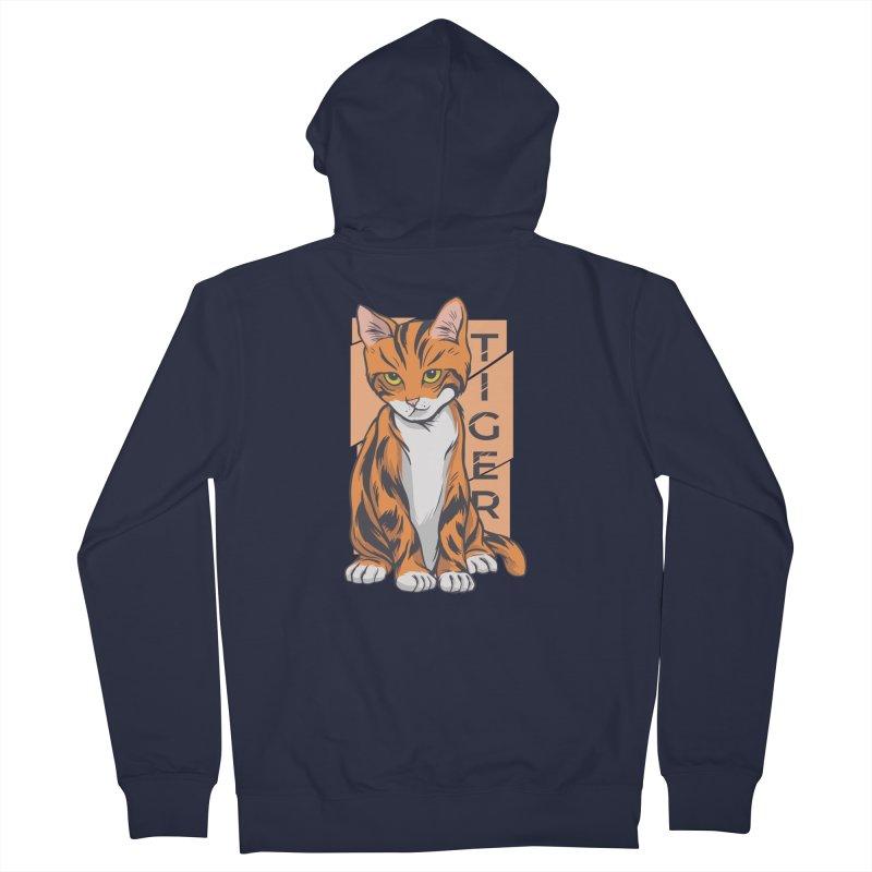 Tiger Cat Women's Zip-Up Hoody by Purrform