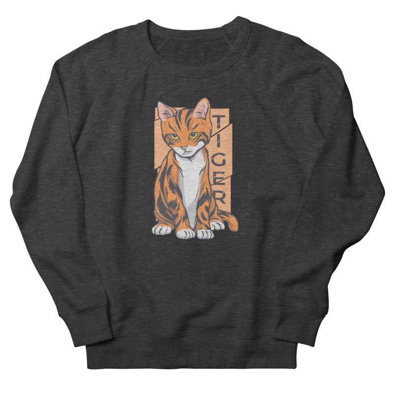 Tiger Cat Women's Sweatshirt by Purrform
