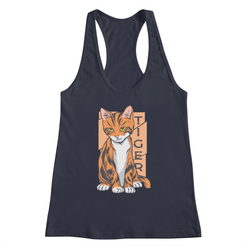 Tiger Cat Women's Tank by Purrform