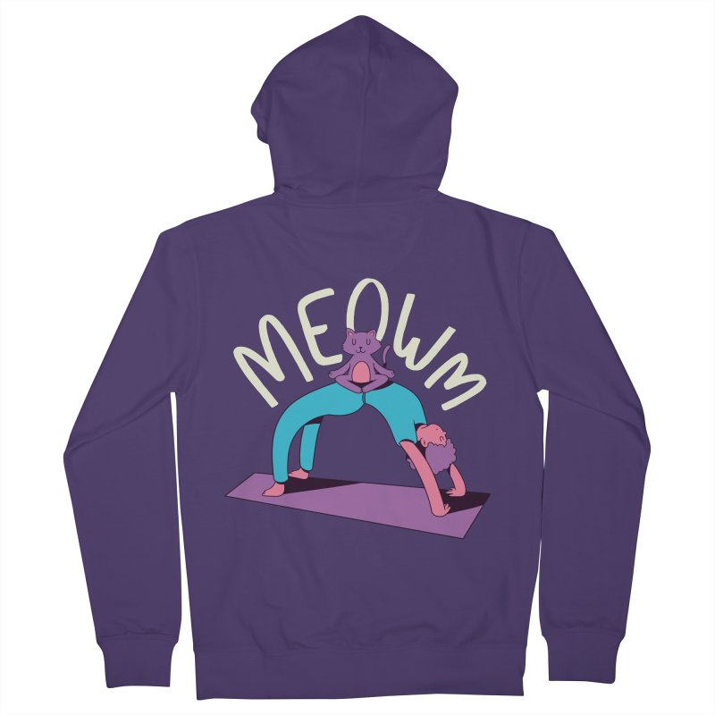 Meow Yoga Women's Zip-Up Hoody by Purrform