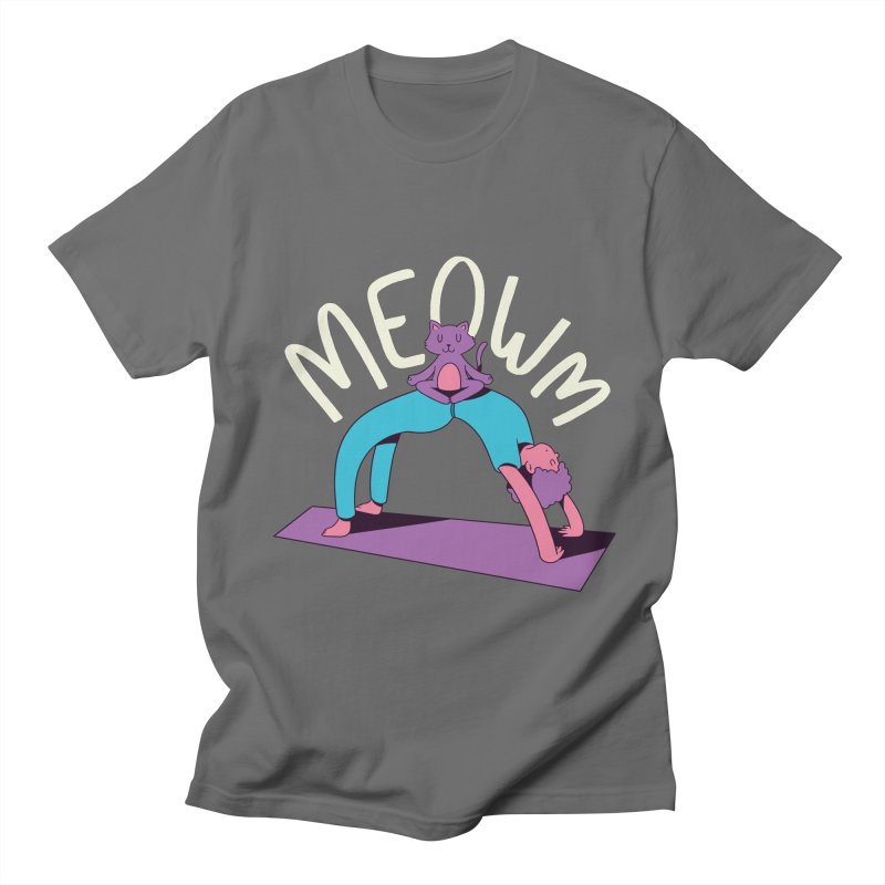 Meow Yoga Men's T-Shirt by Purrform