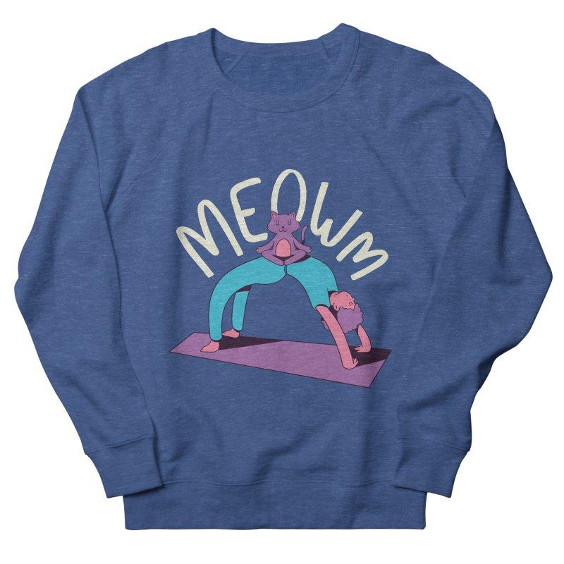 Meow Yoga Women's Sweatshirt by Purrform