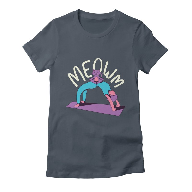 Meow Yoga Women's T-Shirt by Purrform