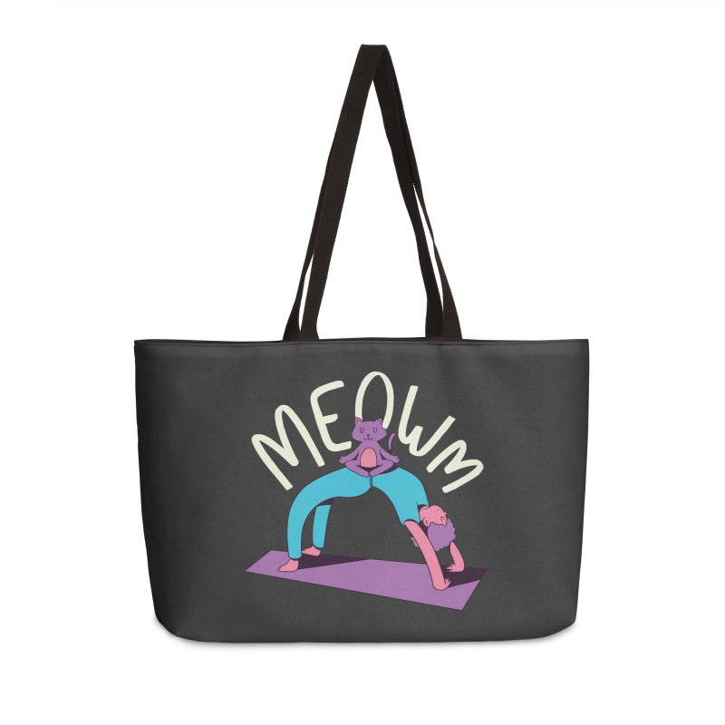 Meow Yoga Accessories Bag by Purrform