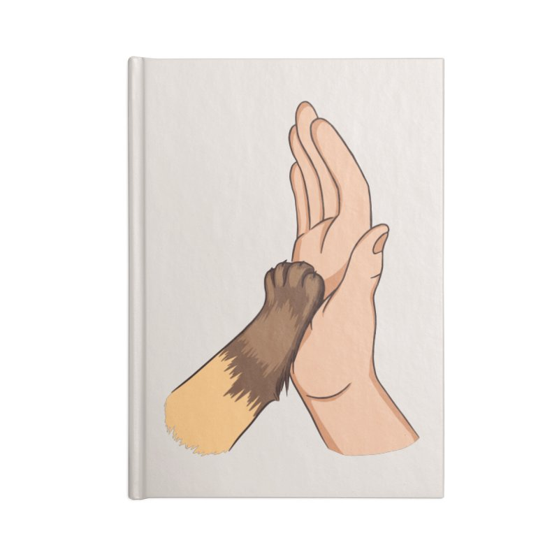 Cat High Five Accessories Notebook by Purrform