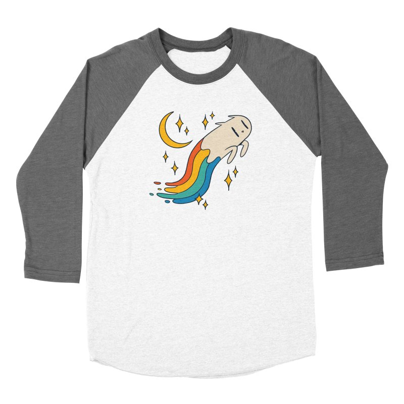Flying Cat Rainbow Women's Longsleeve T-Shirt by Purrform