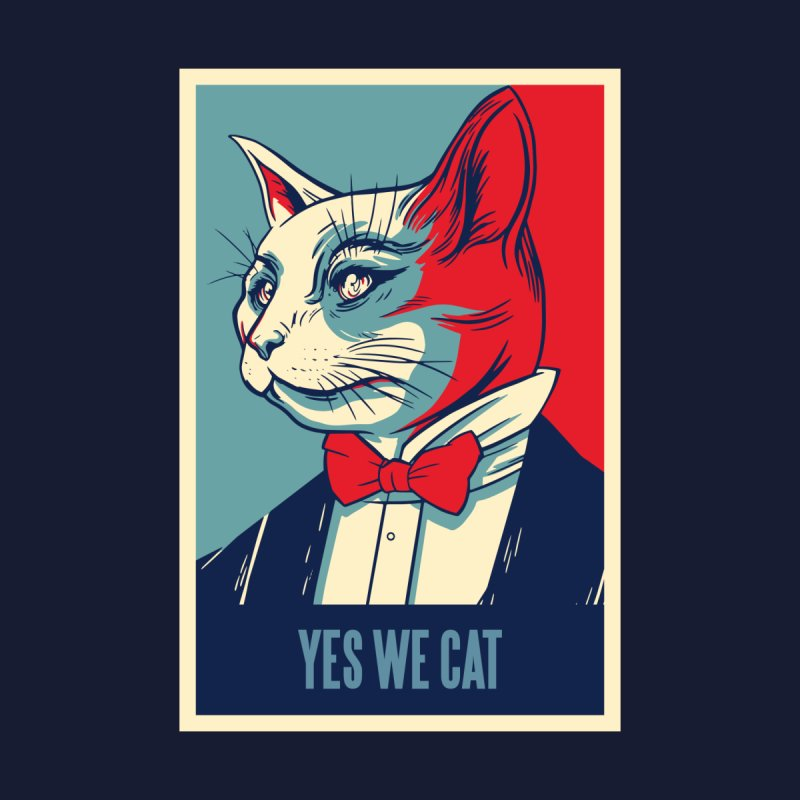 Yes We Cat Men's T-Shirt by Purrform
