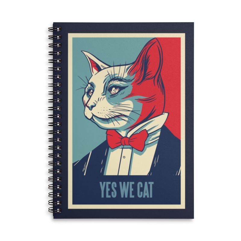 Yes We Cat Accessories Notebook by Purrform