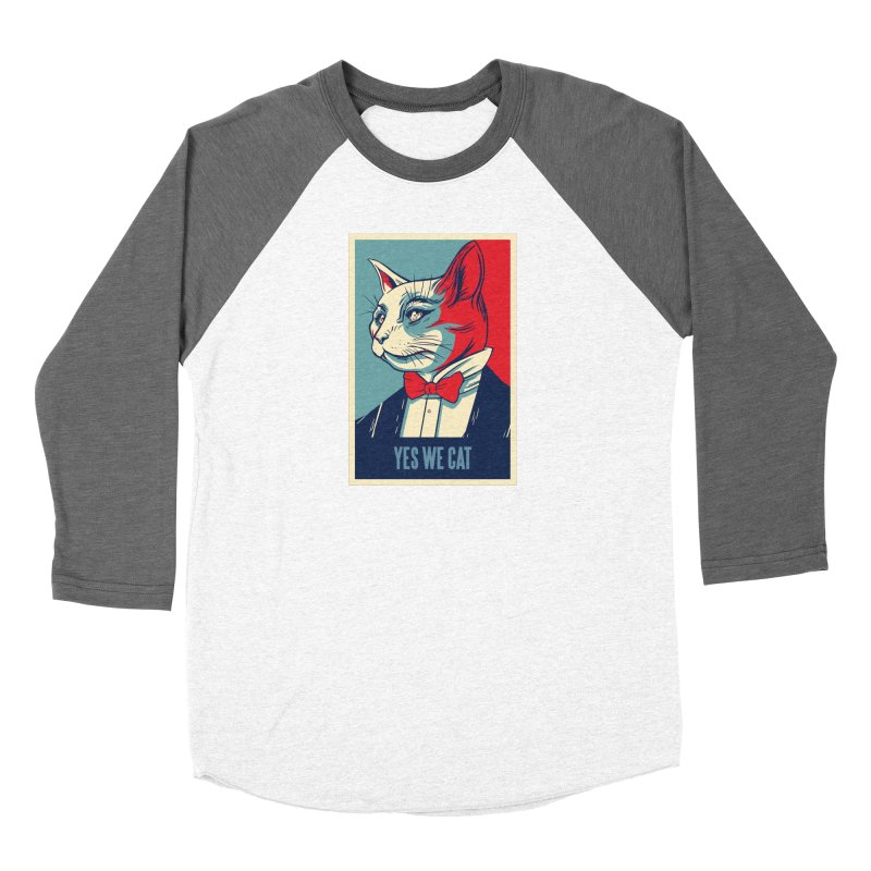 Yes We Cat Women's Longsleeve T-Shirt by Purrform