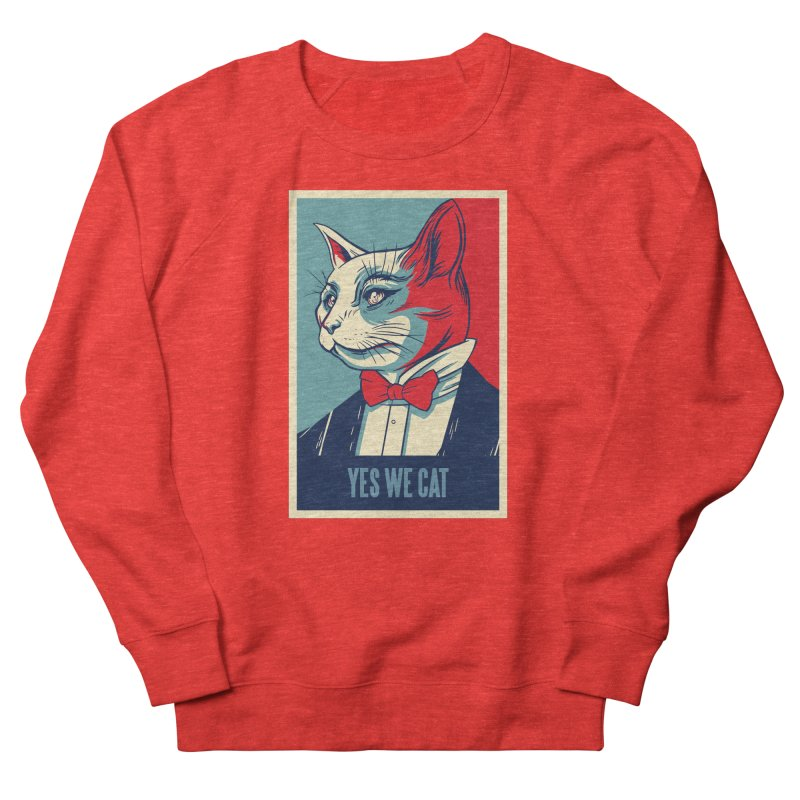 Yes We Cat Women's Sweatshirt by Purrform