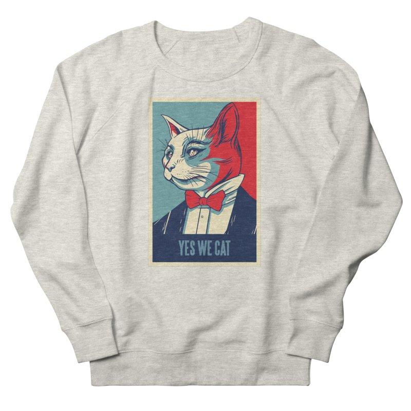Yes We Cat Men's Sweatshirt by Purrform