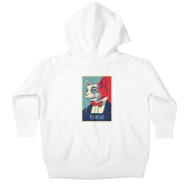 Yes We Cat Kids Baby Zip-Up Hoody by Purrform