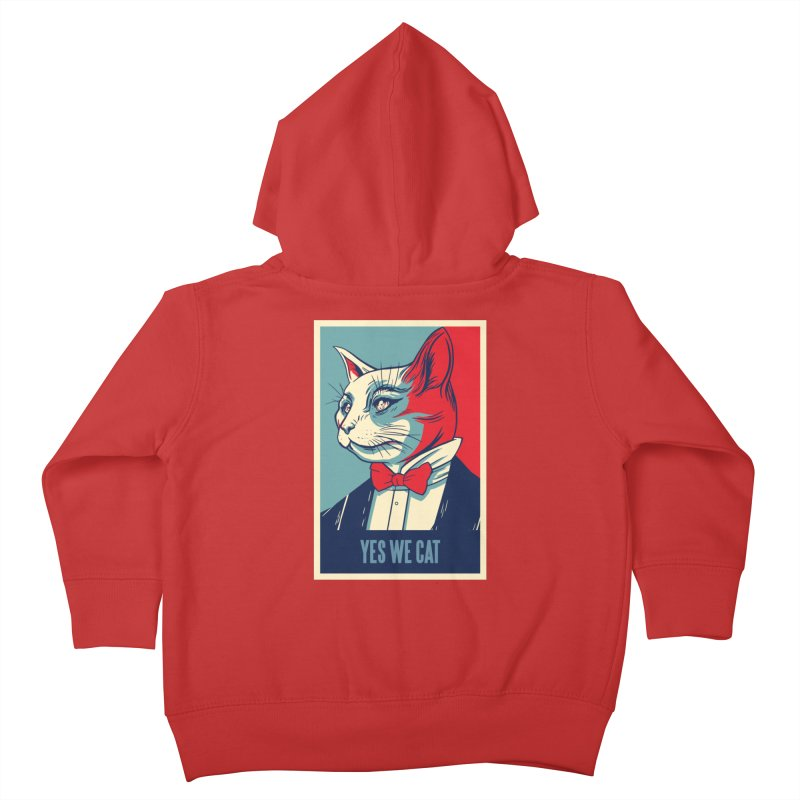 Yes We Cat Kids Toddler Zip-Up Hoody by Purrform