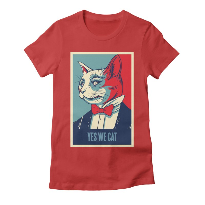 Yes We Cat Women's T-Shirt by Purrform