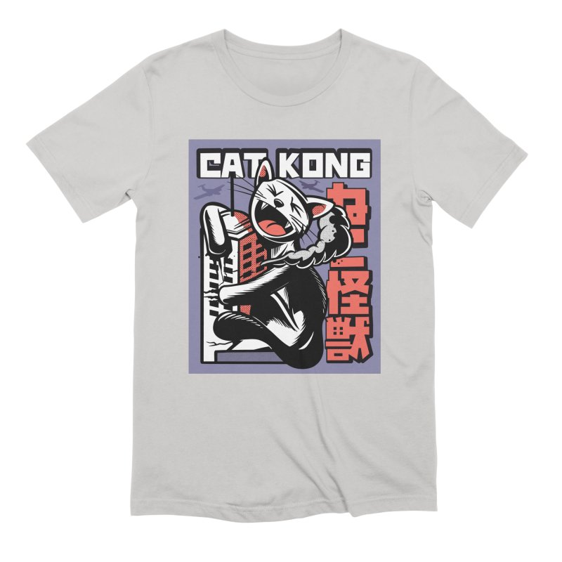 Cat Kong Men's T-Shirt by Purrform