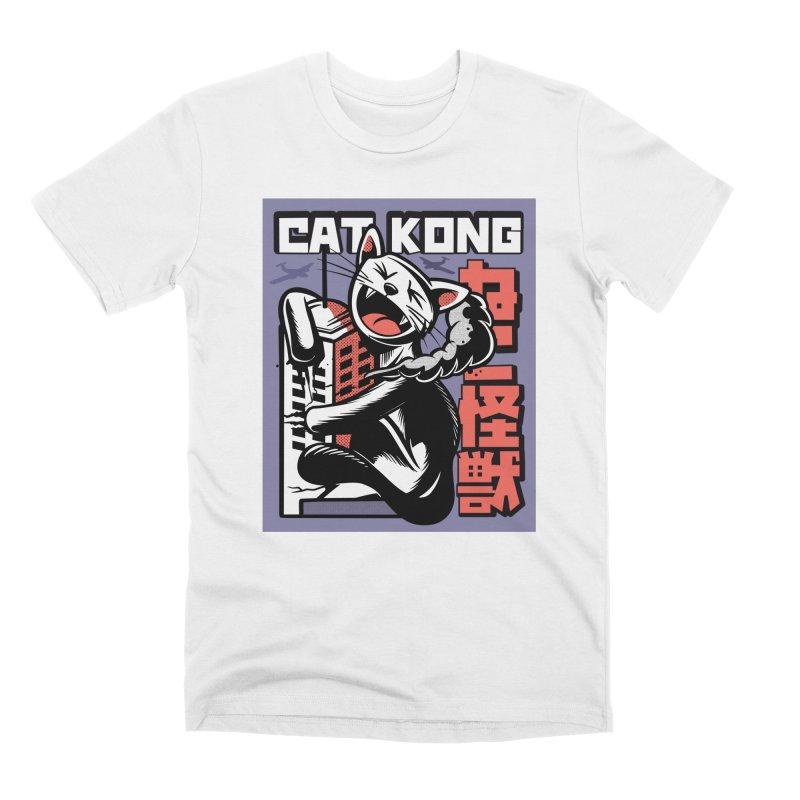 Cat Kong Men's T-Shirt by Purrform
