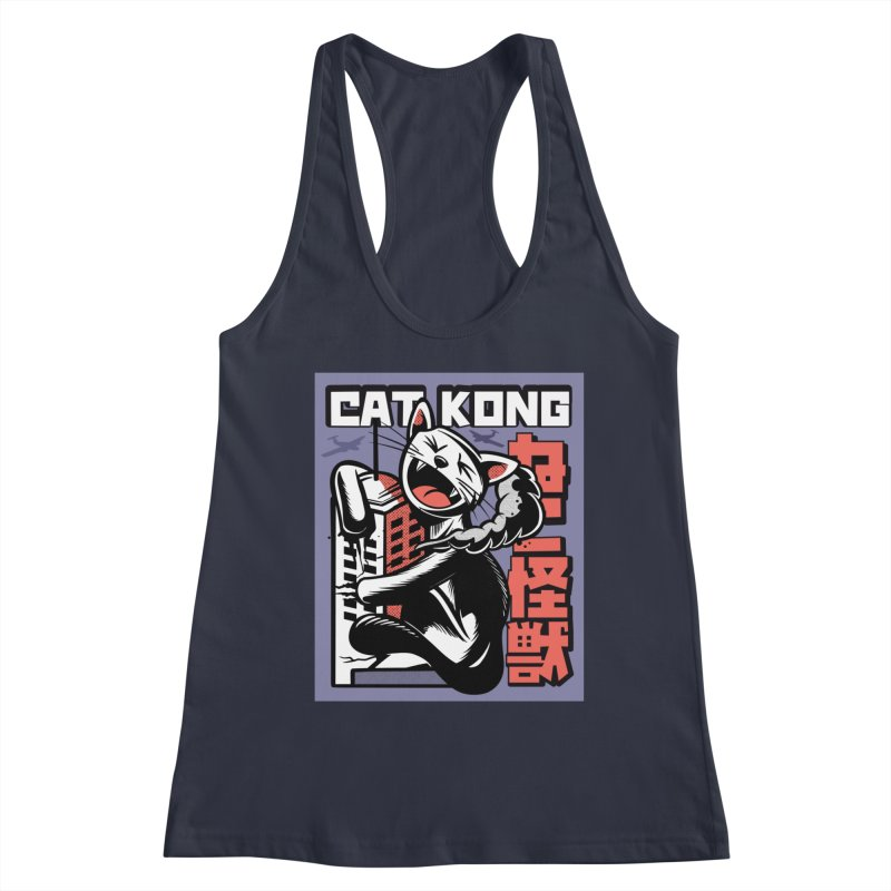 Cat Kong Women's Tank by Purrform