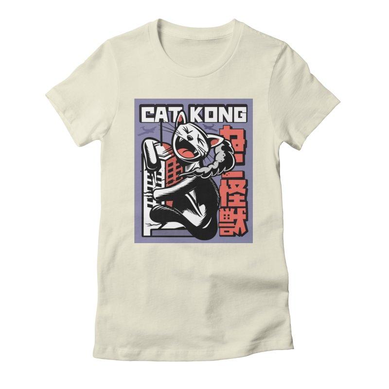 Cat Kong Women's T-Shirt by Purrform