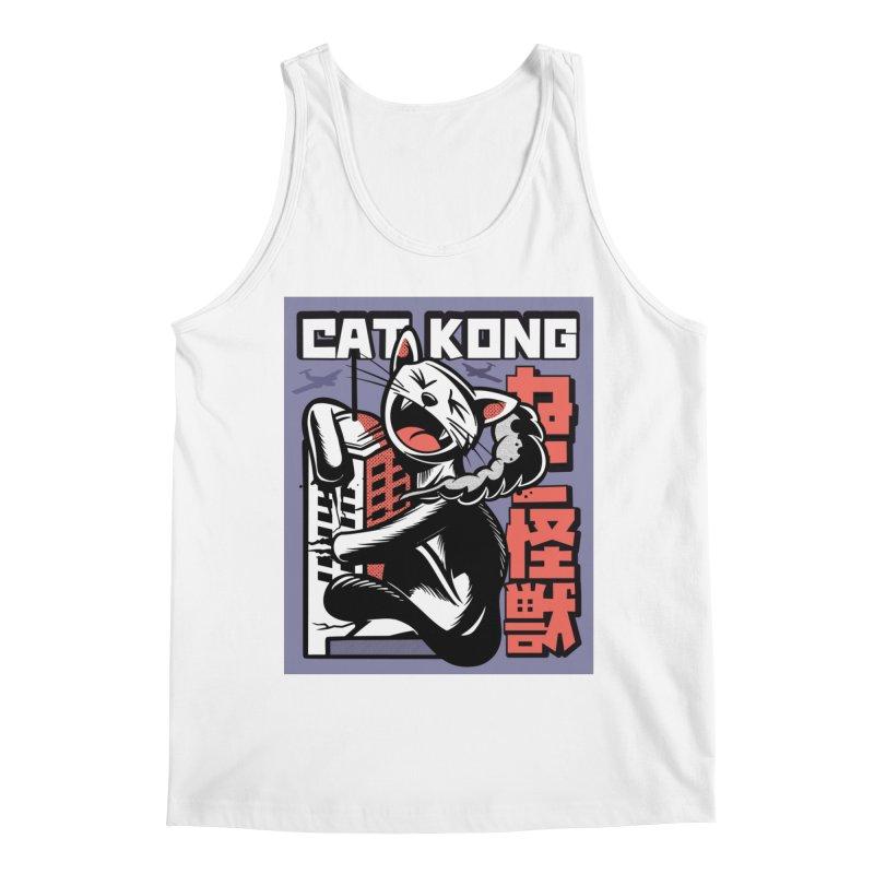 Cat Kong Men's Tank by Purrform