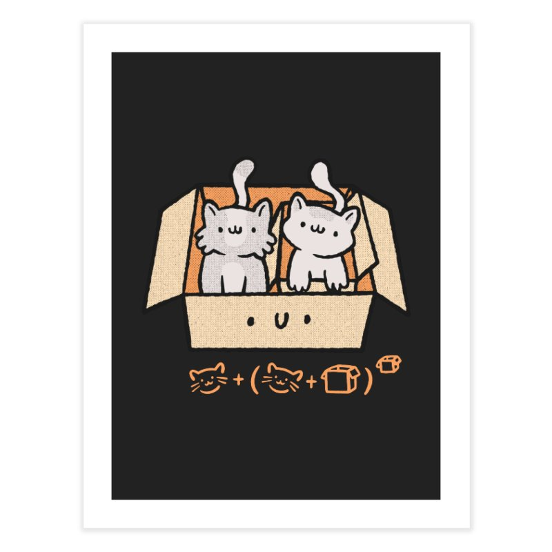Kittens Boxed Home Fine Art Print by Purrform