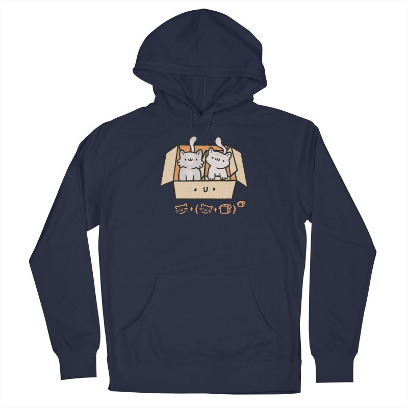 Kittens Boxed Men's Pullover Hoody by Purrform
