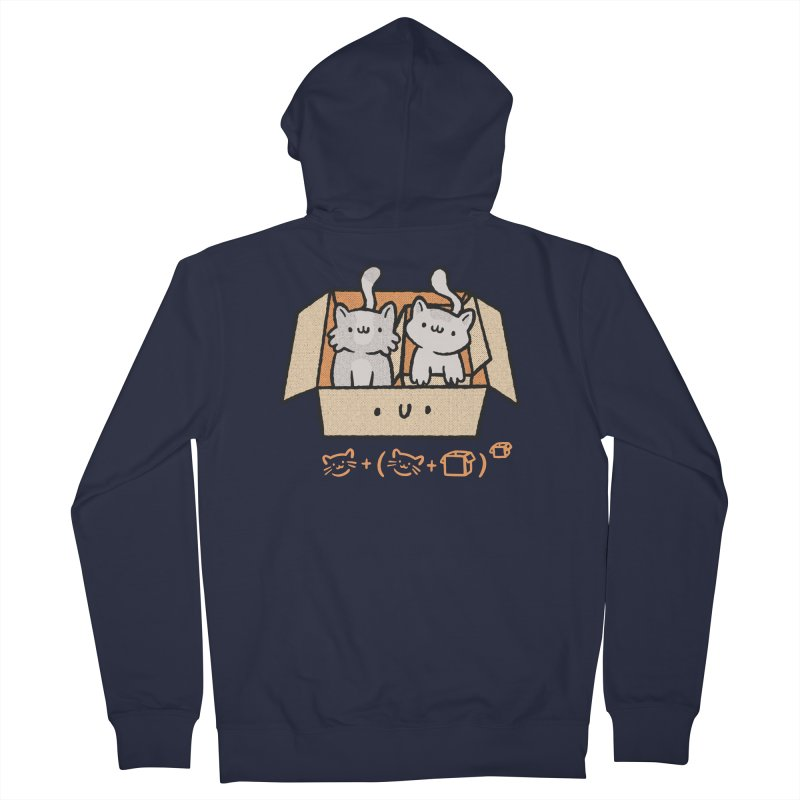 Kittens Boxed Women's Zip-Up Hoody by Purrform