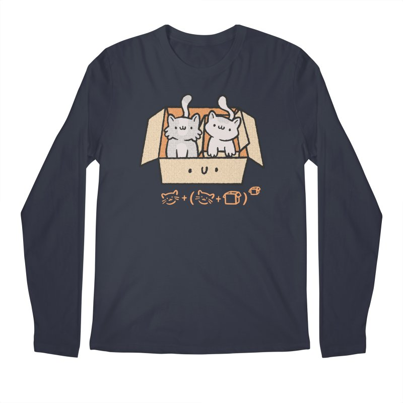 Kittens Boxed Men's Longsleeve T-Shirt by Purrform