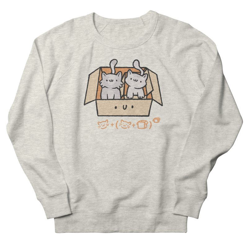 Kittens Boxed Men's Sweatshirt by Purrform