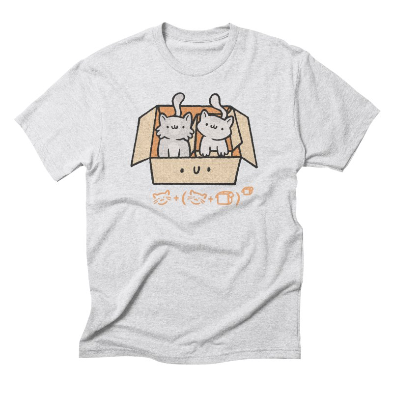 Kittens Boxed Men's T-Shirt by Purrform