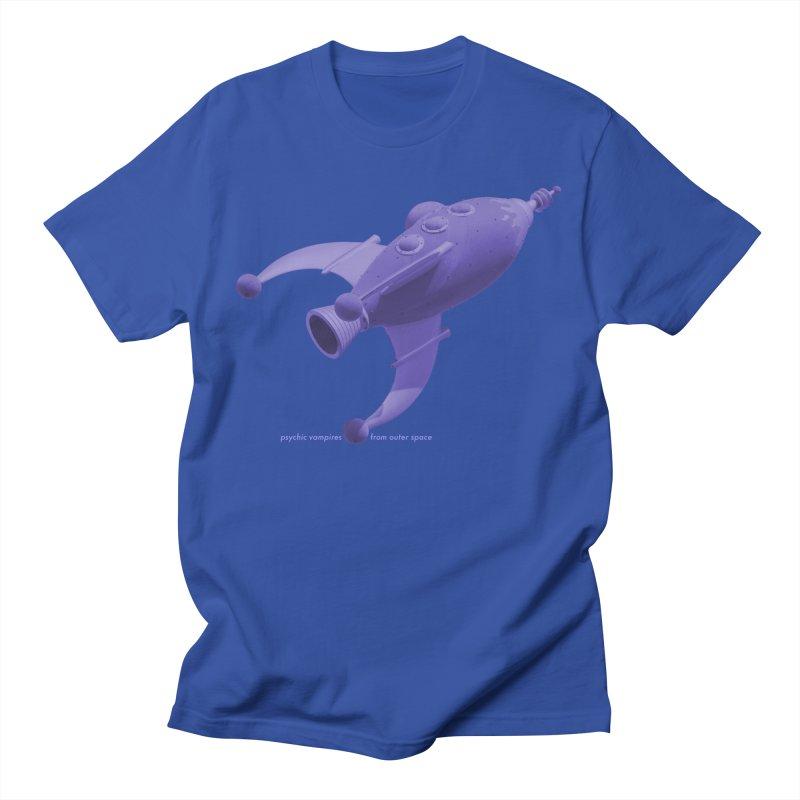 Purple PVFOS Rocket Men's T-Shirt by PVFOS Merch