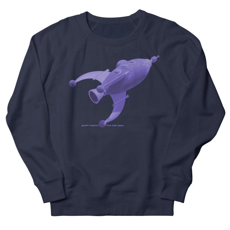 Purple PVFOS Rocket Women's Sweatshirt by PVFOS Merch