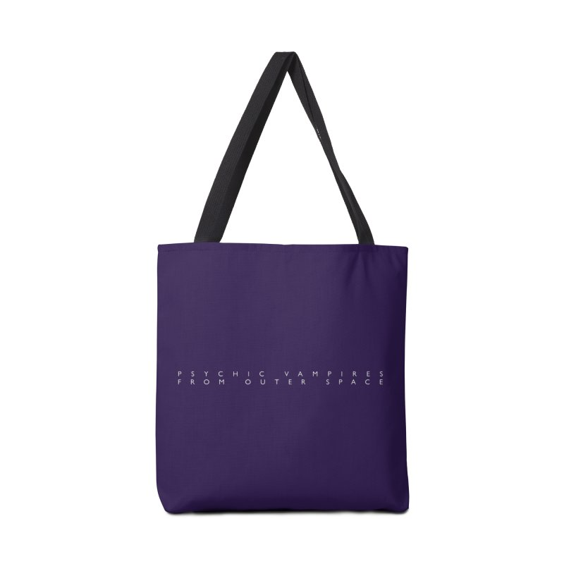 PVFOS Text Accessories Bag by PVFOS Merch