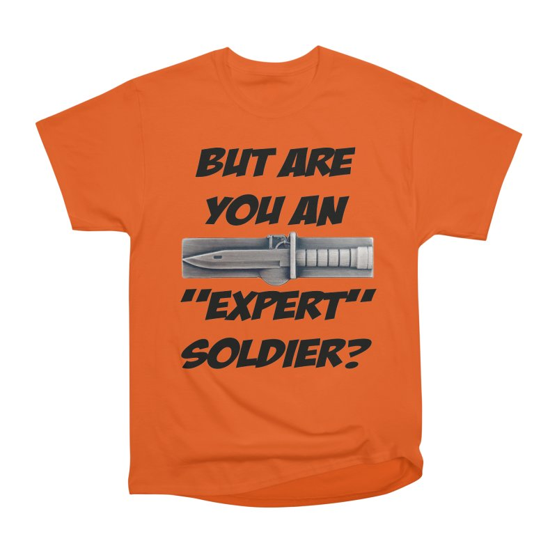 Expert Soldier Badge Men's T-Shirt by The Pvt Murphy Loot Shop