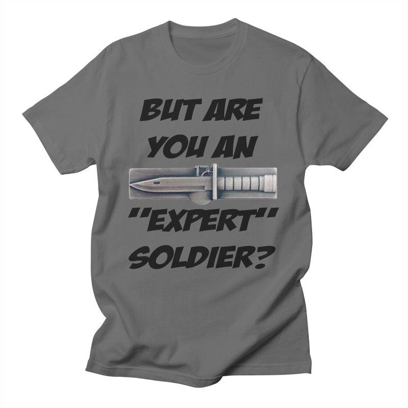 Expert Soldier Badge Men's T-Shirt by The Pvt Murphy Loot Shop