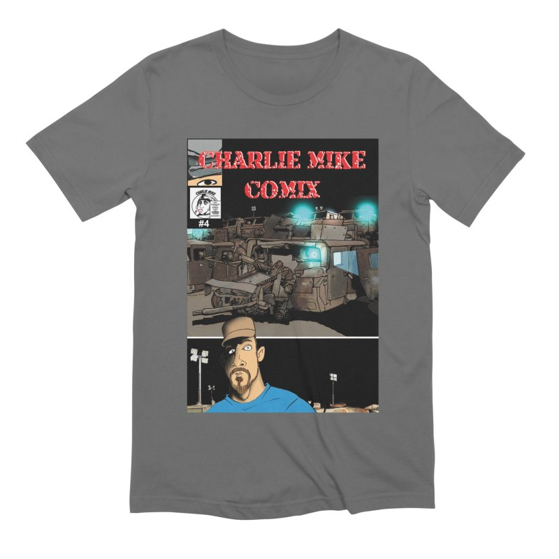 Charlie Mike Comix Issue 4 Cover Men's T-Shirt by The Pvt Murphy Loot Shop