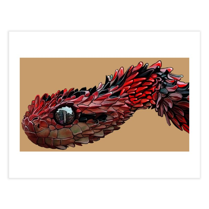 Black and Red Home Fine Art Print by The Pvt Murphy Loot Shop