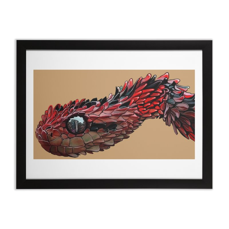 Black and Red Home Framed Fine Art Print by The Pvt Murphy Loot Shop