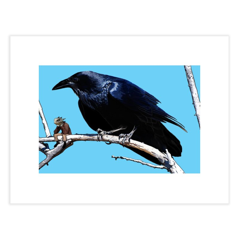 Carla Crow and Spike Home Fine Art Print by The Pvt Murphy Loot Shop