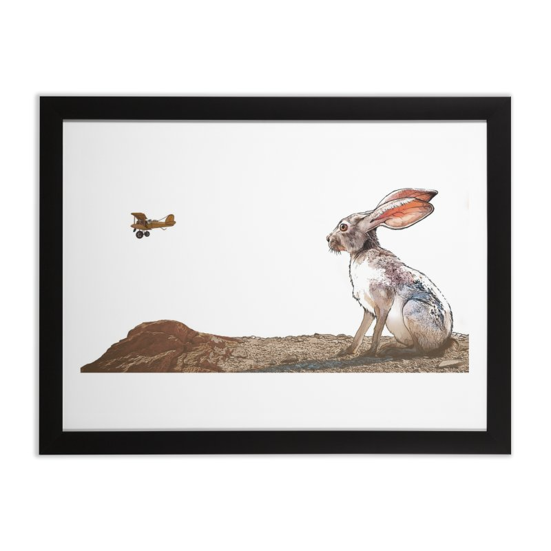 Jackrabbit Home Framed Fine Art Print by The Pvt Murphy Loot Shop