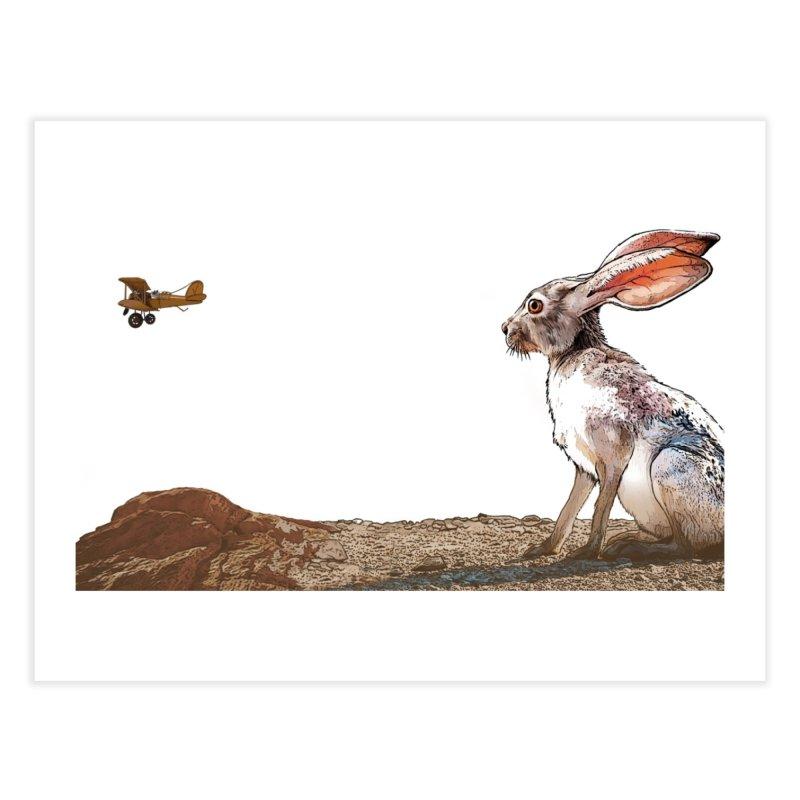 Jackrabbit Home Fine Art Print by The Pvt Murphy Loot Shop