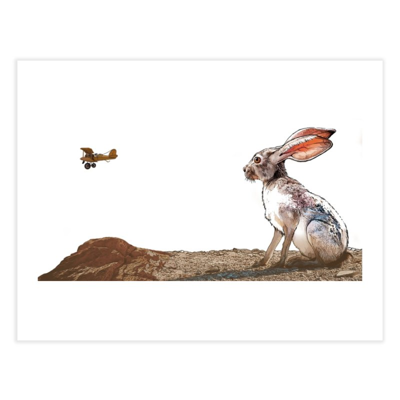 Jackrabbit Home Fine Art Print by The Pvt Murphy Loot Shop