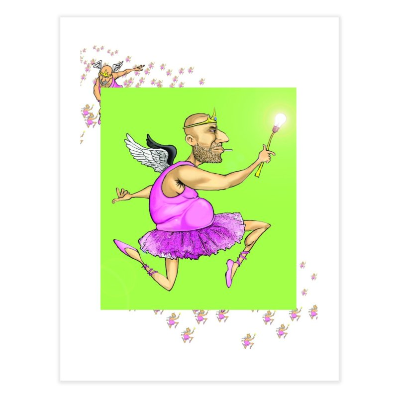 The Good Idea Fairy Home Fine Art Print by The Pvt Murphy Loot Shop