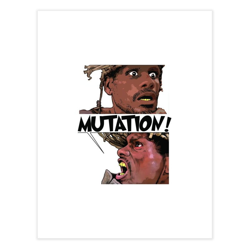 Water Mutation Home Fine Art Print by The Pvt Murphy Loot Shop