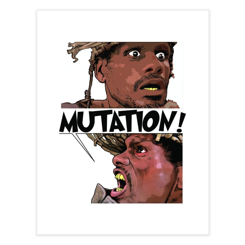 Water Mutation Home Fine Art Print by The Pvt Murphy Loot Shop